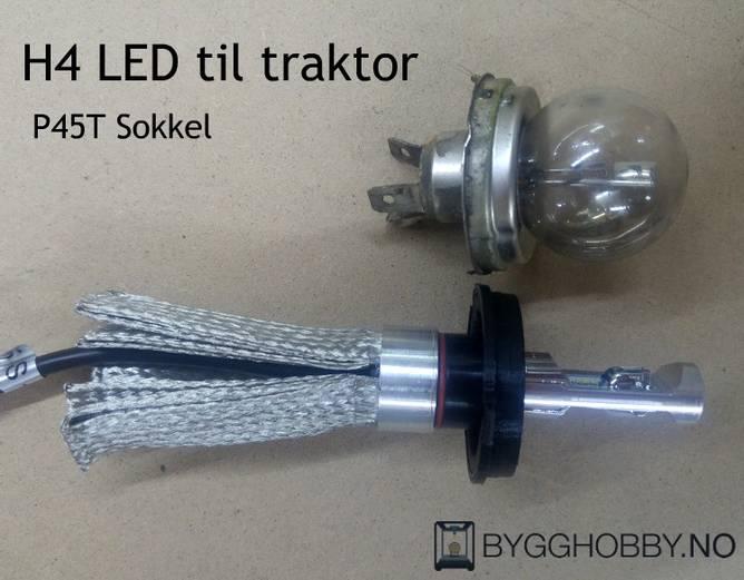 Bilde av NSSC P45T H4 LED Pærer